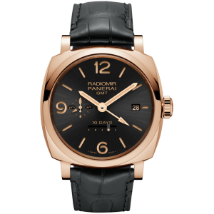 Panerai [NEW][LIMITED 150] Radiomir 1940 10 Days GMT Automatic Oro Rosso PAM 625 45mm (Retail:HK$263,200)