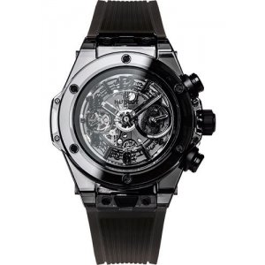 Hublot [NEW][LIMITED 500] Big Bang Unico Sapphire All Black 411.JB.4901.RT (Retail:CHF 60000)