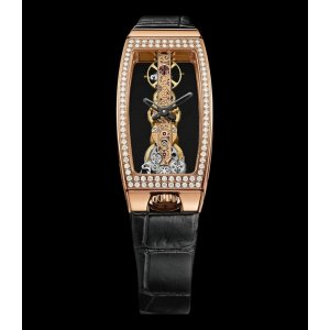 CORUM [NEW] BRIDGES MISS GOLDEN BRIDGE DIAMOND WATCH 113.102.85/0001 0000