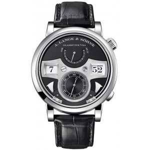 A Lange and Sohne 全新 145.029 Zeitwerk Striking Time 44.2mm Mens Watch