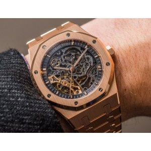 Audemars Piguet [NEW] Royal Oak Double Balance Wheel Openworked 15407OR