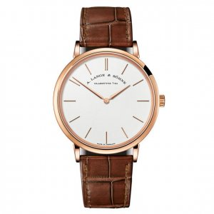 A. Lange & Söhne [NEW] Saxonia Thin Manual Wind 40mm Mens Watch 211.033 (Retail:EUR21000)