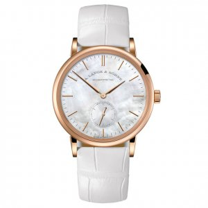A. Lange & Söhne 全新 219.043 Saxonia 35 Pink Gold Ladies Watch