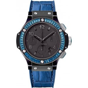 Hublot [NEW] Big Bang Black Tutti Frutti Blue 341.CL.1110.LR.1907