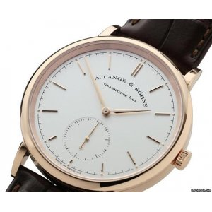 A. Lange & Sohne [NEW] Saxonia Automatic 38.5mm Mens 380.032 (Retail:EUR22000)