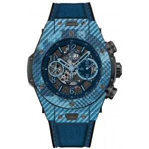 HUBLOT [全新] 411.YL.5190.NR.ITI16 BIG BANG UNICO ITALIA INDEPENDENT BLUE (Retail:US$26,200)