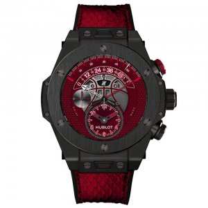 HUBLOT [NEW][LIMITED 200 PC] Big Bang Unico Chronograph Vino Automatic Limited Kobe Bryant Edition (Retail:EUR 26.300)