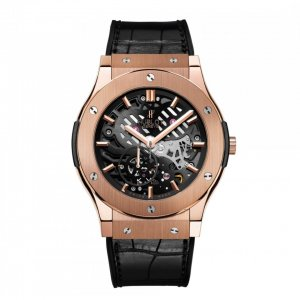 Hublot [NEW] Classic Fusion Ultra-Thin Skeleton 45mm 515.OX.0180.LR (Retail:EUR 30400)