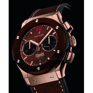 Hublot [NEW] Classic Fusion Forbiden X King Gold Brown Ceramic 521.OC.0589.VR.OPX14 (Retail:EUR 45.500)