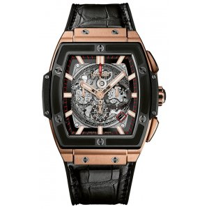 Hublot [NEW] Spirit of Big Bang King Gold Ceramic 601.OM.0183.LR (Retail:EUR 39400)