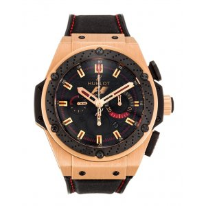 HUBLOT [全新] 703.OM.1138.NR.FMO10 F1 KING POWER 48MM GOLD INDIA (Retail:CHF$37,900)