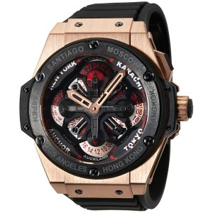 Hublot [NEW] King Power Unico GMT King Gold Ceramic 771.OM.1170.RX (Retail:EUR 43500)