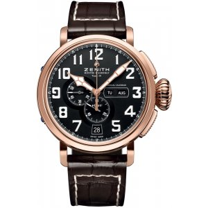 Zenith [NEW] Pilot Montre d'Aeronef Type 20 Annual Calendar 87.2430.4054/21.C721 (Retail:US$17,300)