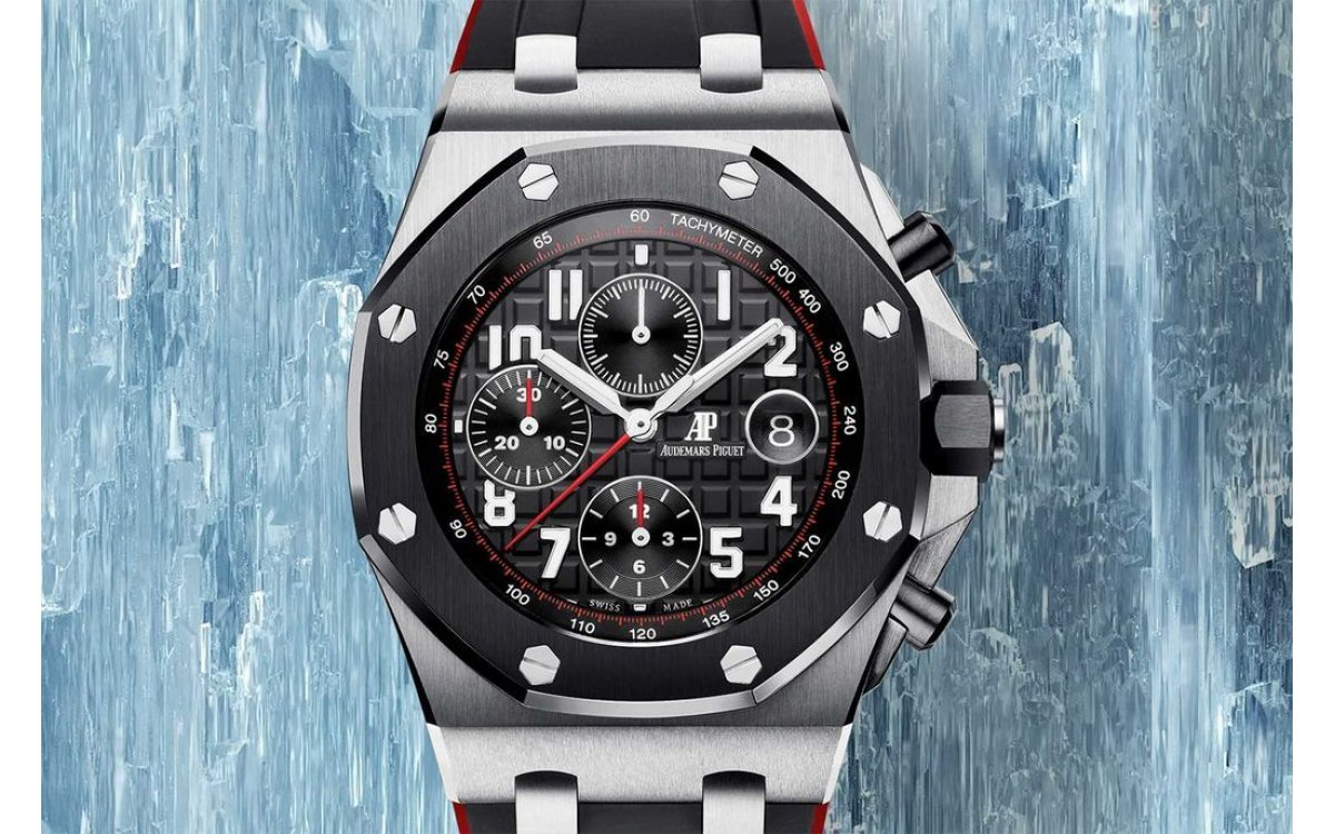 Audemars Piguet Royal Oak Offshore Selfwinding Chronograph 紅黑交織的勇猛與強悍