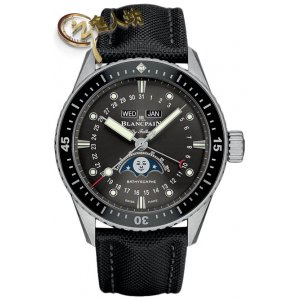 Blancpain [NEW] Fifty Fathoms Bathyscaphe Complete Calendar 43mm 5054-1110-b52a