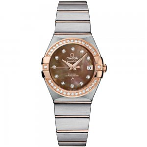 Omega [NEW] Constellation Co-Axial 27mm 123.25.27.20.57.001 (Retail:HK$85,600)