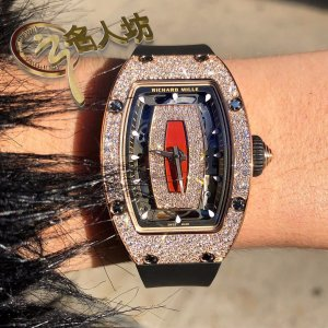Richard Mille [NEW] RM 07-01 Rose Gold Diamonds Automatic Ladies Watch