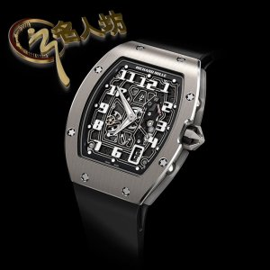 RICHARD MILLE [NEW] RM 67-01 WHITE GOLD EXTRA FLAT AUTOMATIC WATCH