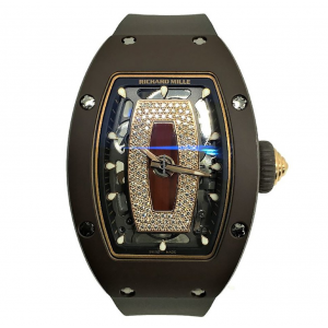 Richard Mille [NEW] RM 07-01 Ceramique Ladies TPZ-Z Brown Ceramic