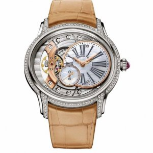 Audemars Piguet [NEW] Ladies Millenary Hand Wound 77247bc.zz.a813cr.01 (Retail:HK$241,000)