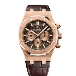 Audemars Piguet [NEW] Royal Oak Chronograph 26331OR.OO.D821CR.01 Brown Dial Watch