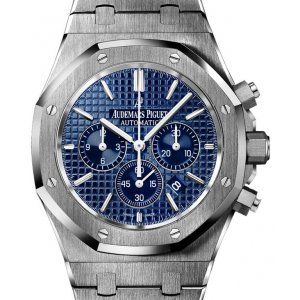 Audemars Piguet [NEW] Royal Oak Chronograph Blue Dial Steel 26320ST (Retail: HK$190,000)