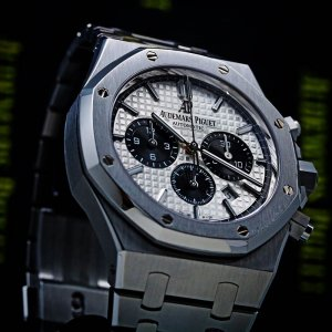 Audemars Piguet [NEW] Royal Oak Chronograph Panda White Dial Black Eye 26331ST.OO.1220ST.03