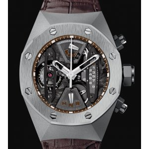 Audemars Piguet [NEW] Royal Oak Concept Tourbillon Chrono Titanium 26223TI (Retail:US$296,800)