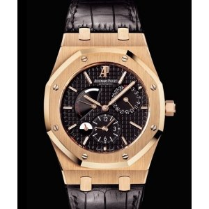 Audemars Piguet [NEW] Royal Oak Dual Time 26120OR.OO.D002CR.01 (Retail:HK$275,000)
