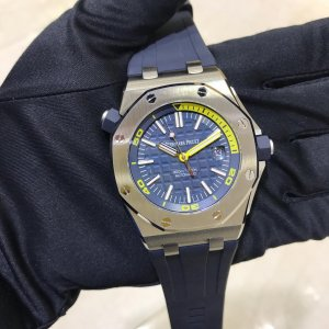 Audemars Piguet [NEW] Royal Oak Offshore Diver 15710ST.OO.A027CA.01 Blue Dial Watch