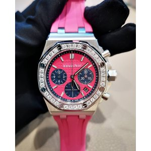 Audemars Piguet [NEW] Royal Oak Offshore Selfwinding Chronograph 26231ST.ZZ.D069CA.01 Pink Index Diamond