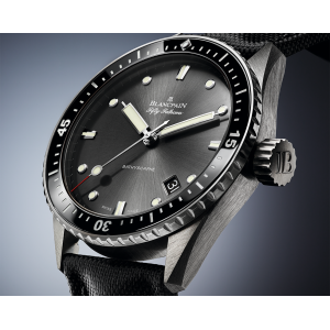 Blancpain [NEW] Fifty Fathoms Bathyscaphe Automatic 43mm 5000-1110-B52A (List Price: HK$84,000)