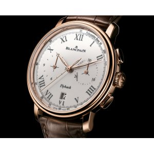 Blancpain [NEW] Villeret Flyback Chrono Pulsometer 43.6mm 6680F-3631-55B (Retail:EUR 29.930)