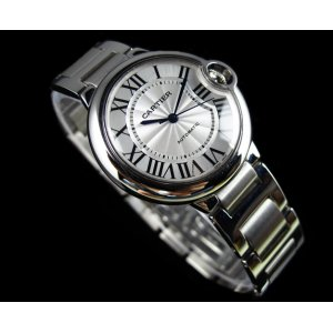 Brand New Ballon Bleu de Cartier 36mm Steel Watch W6920046 (List Price: HK$45,500)