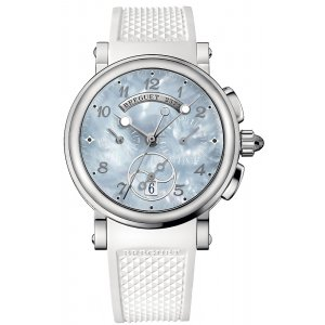 Breguet [NEW] 8827st/59/586 Marine Chronograph Ladies (Retail:HK$155,200)
