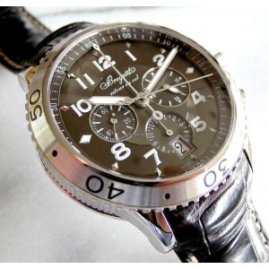 Breguet [NEW] Transatlantique Type XXI Flyback Mens 3810st/92/9zu