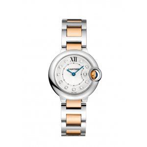 Cartier [NEW] Ballon Bleu 28mm Ladies Watch with 18kt Rose Gold WE902030 (Retail:HK$65,000)