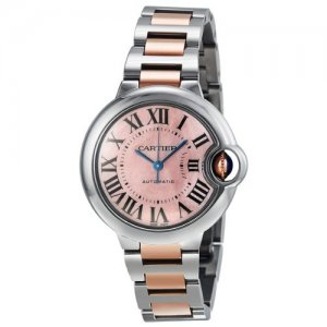 Cartier [NEW] Ballon Bleu 33mm Ladies W6920098 (List Price HK$64,500)
