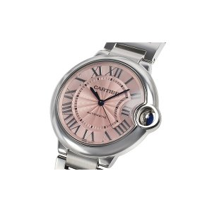 Cartier [NEW] Ballon Bleu De Cartier Pink Dial 36mm Ladies W6920041 (List Price: HK$47,200)