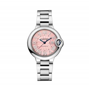 CARTIER [NEW] Ballon Bleu Pink Dial Automatic Ladies Watch W6920100 (Retail: HK$45,000)