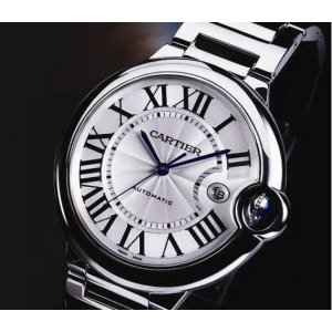 Cartier [NEW] Ballon Bleu Steel Automatic Mens 42mm W69012Z4 (List Price: HK$49,200)