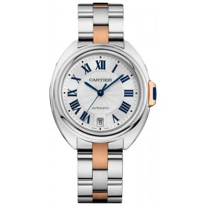 Cartier [NEW] Cle De Cartier Automatic 31mm Ladies W2CL0004 (Retail:HK$60,000)
