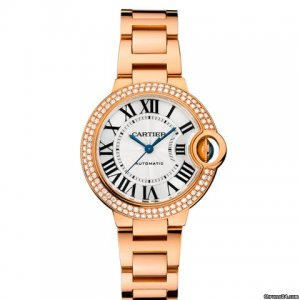 Cartier [NEW+SPECIAL OFFER] Ballon Bleu WE902064 33mm Ladies Watch (Retail:HK$306,000)