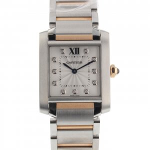 Cartier [NEW] Tank Francaise WE110005 (Retail Price HK$64,000)