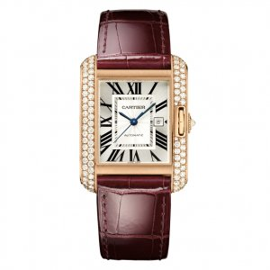 Cartier 全新 Tank Anglaise Medium Automatic Ladies WT100016 (Retail:EUR 37000)