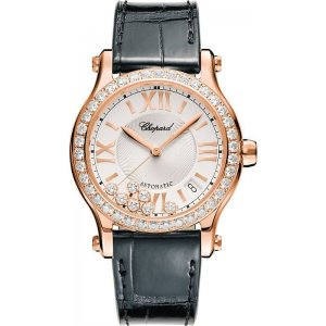 Chopard [NEW] Happy Sport Diamond Ladies Watch 274808-5006