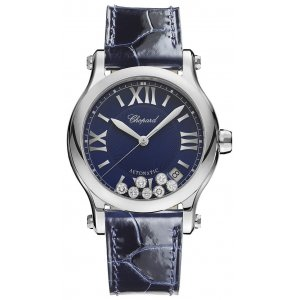 Chopard 全新 278559-3008 Happy Sport Medium Automatic 36mm Ladies Watch