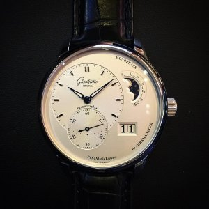 GLASHUTTE ORIGINAL [NEW] PanoMaticLunar Automatic Mens 90-02-42-32-05