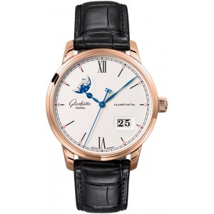 Glashütte Original [NEW] Senator Excellence Panorama Date Moonphase 40mm Mens 36-04-02-05-30