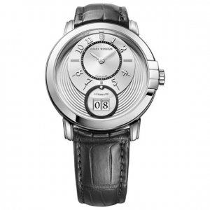 Harry Winston [NEW] Midnight Big Date 42mm automatic 18K white gold MIDABD42WW003